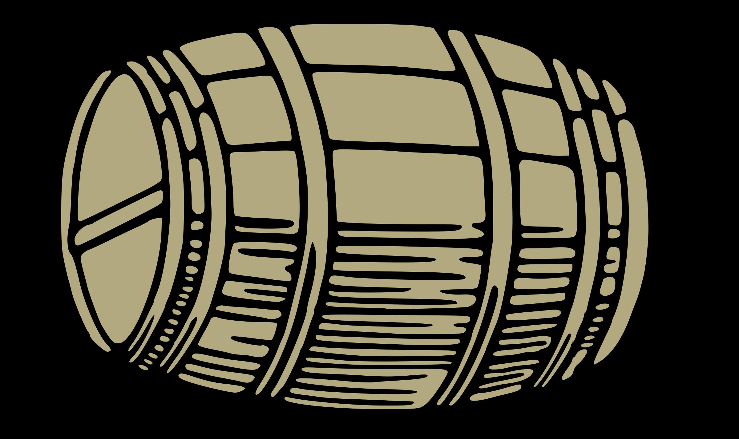 Wine barrel clipart.