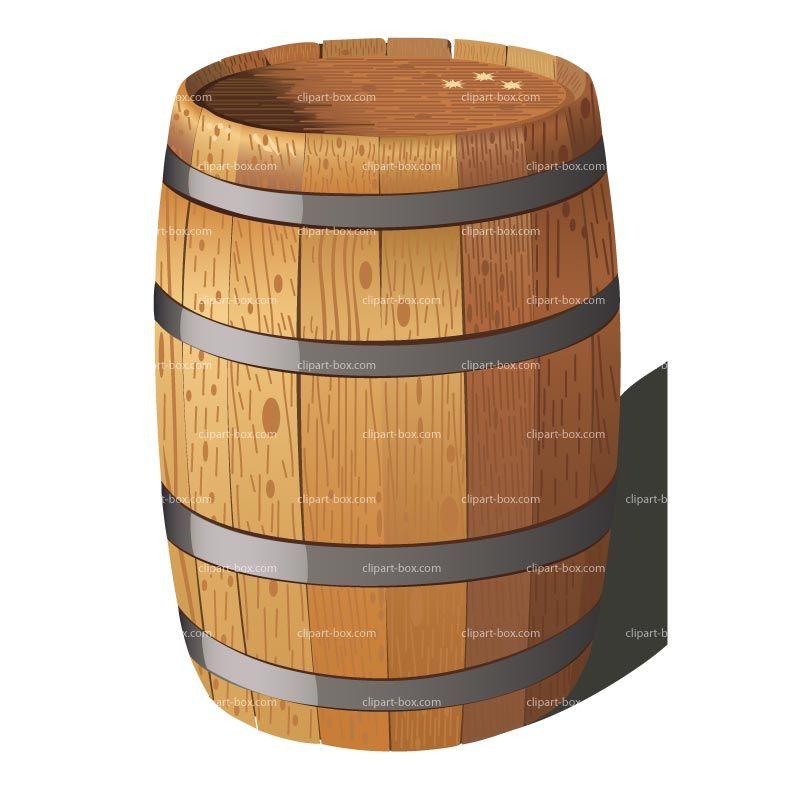 Wine Barrel Clip Art Clipart.