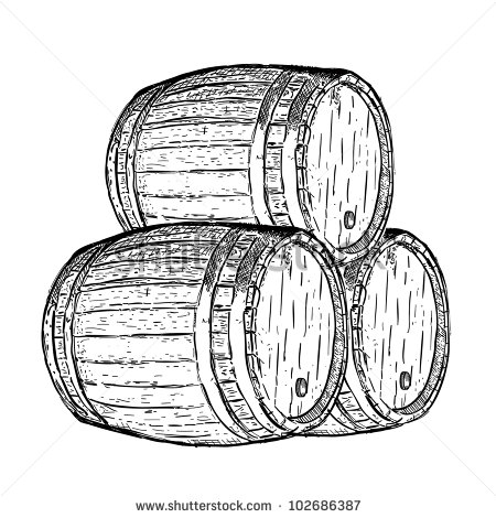 Wine Barrel Stock Vectors, Images & Vector Art.
