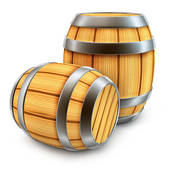 Beer Barrel Clipart.