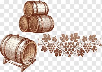 Wine Barrels cutout PNG & clipart images.