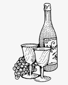 Wine Bottle Gallery For Grapes Wine Glass Clip Art.