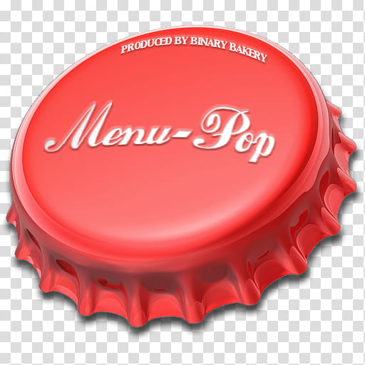Red Background, Bottle Caps, Menu, Text, Exhalation.