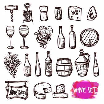 Wine Bottle Vectors, Photos and PSD files.