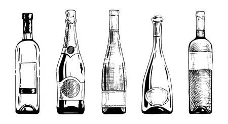 64,076 Wine Bottle Stock Illustrations, Cliparts And Royalty Free.