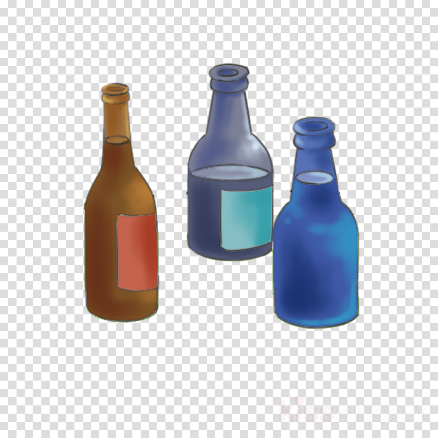 bottle glass bottle blue wine bottle cobalt blue clipart.