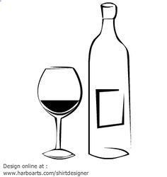 Wine Bottle Silhouette Clip Art at GetDrawings.com.