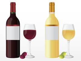 Wine Free Vector Art.