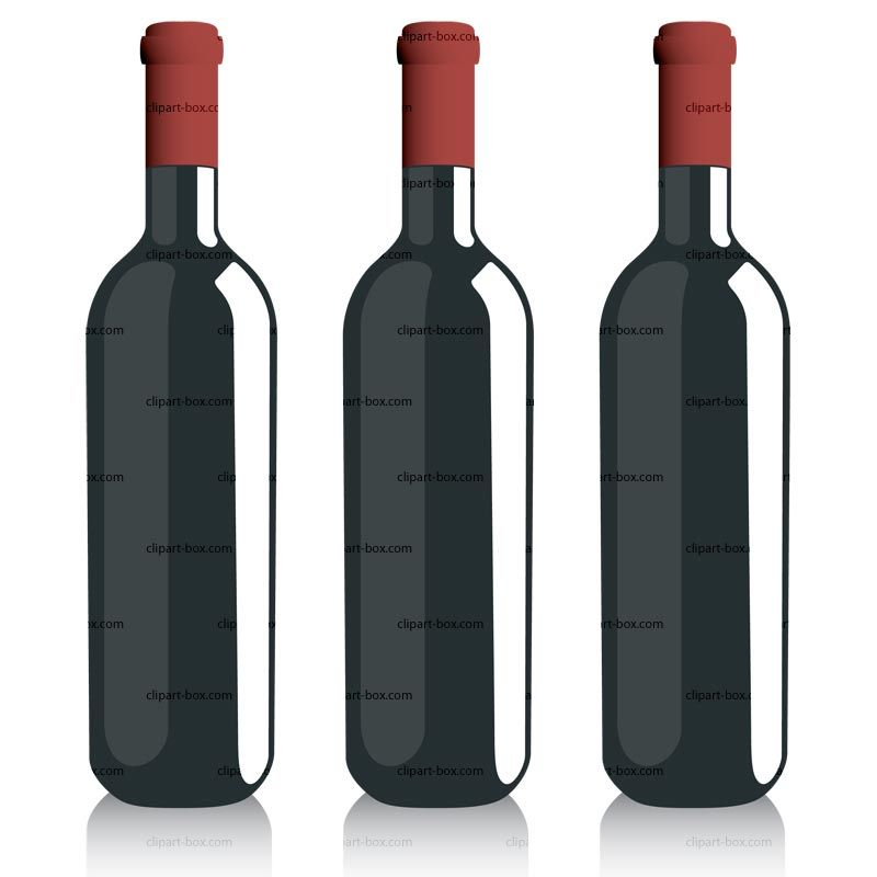 wine bottle clip art free.