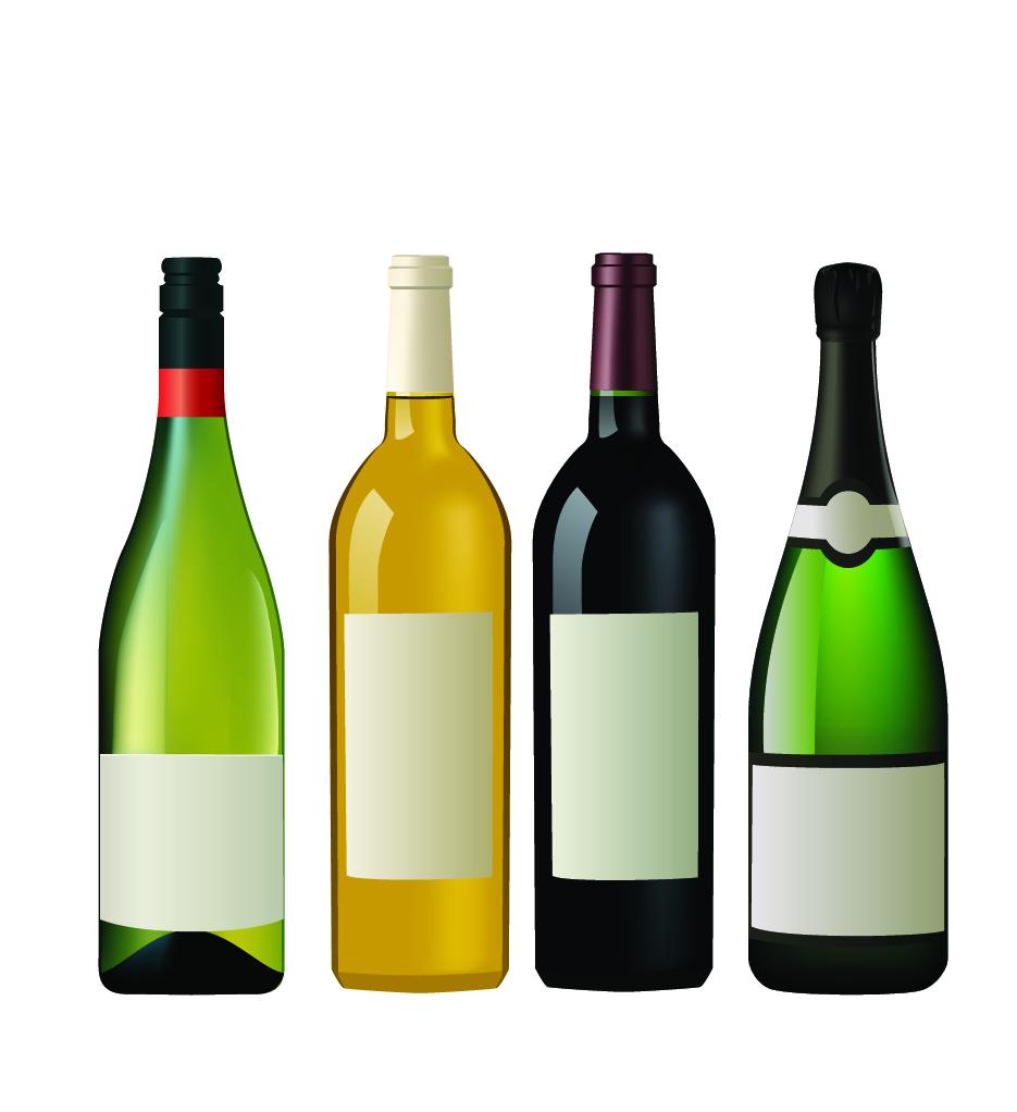 Free Wine Bottle Silhouette Vector, Download Free Clip Art.