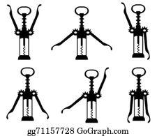 Corkscrew Clip Art.