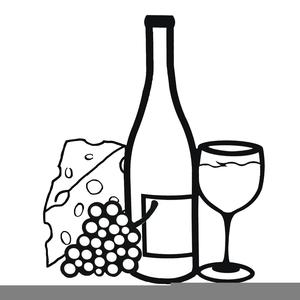 Free Clipart Of Wine Bottle.
