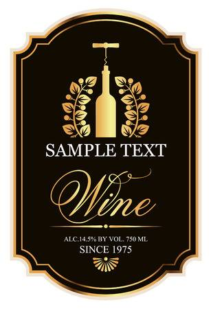 35,784 Wine Label Stock Vector Illustration And Royalty Free Wine.