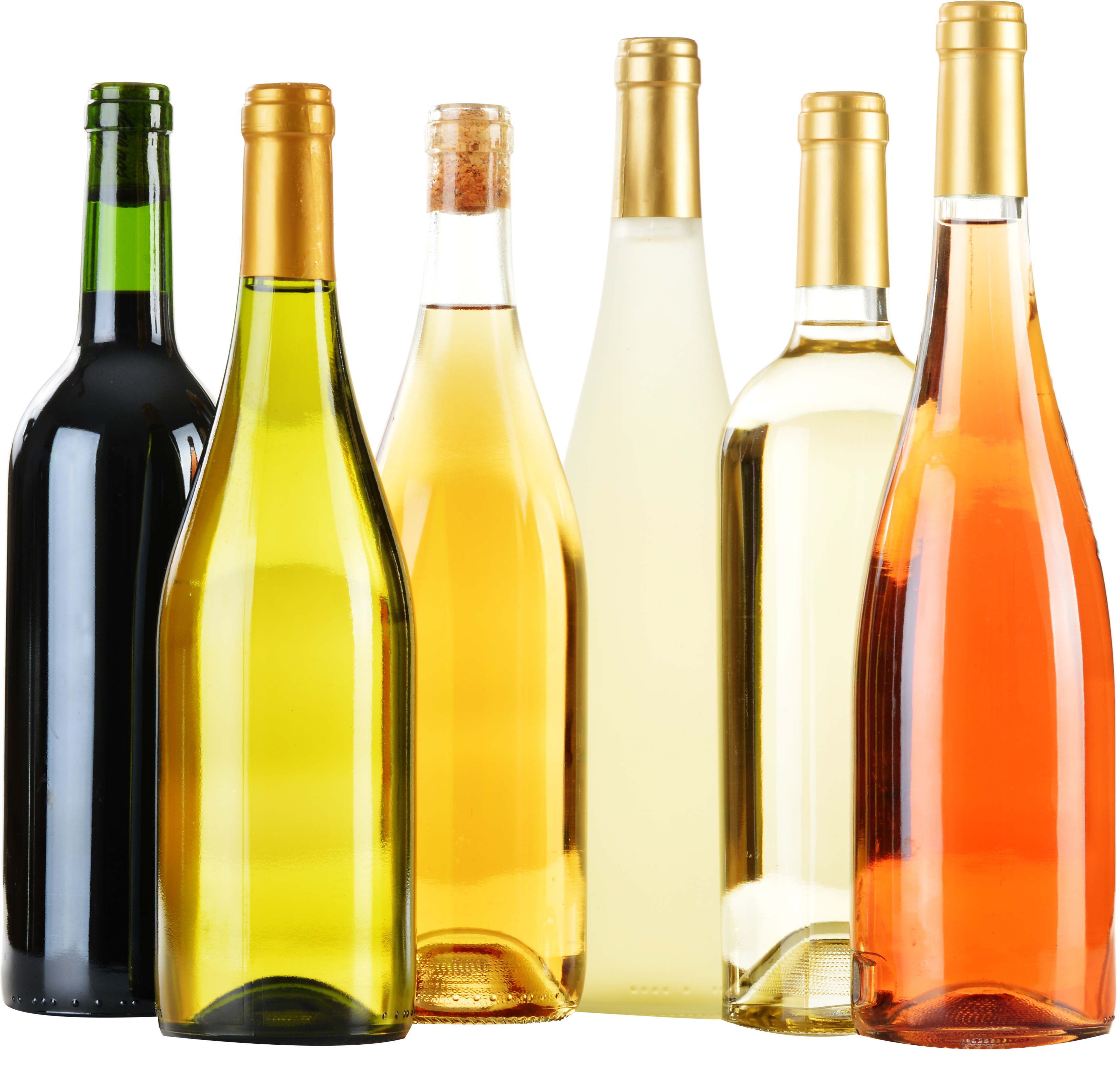 HD Wine Champagne Bottle Label Clip Art.