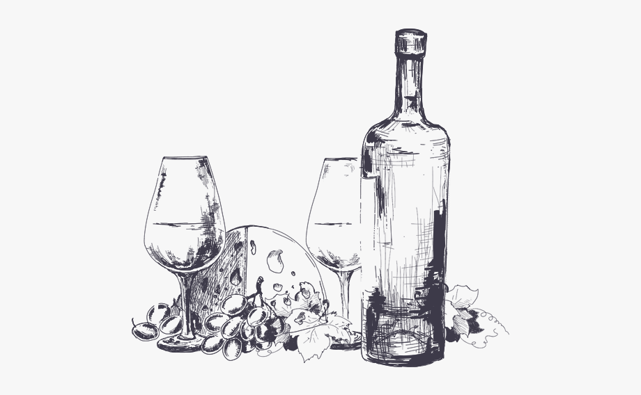 Clip Art Collection Free Bottle Drawing.