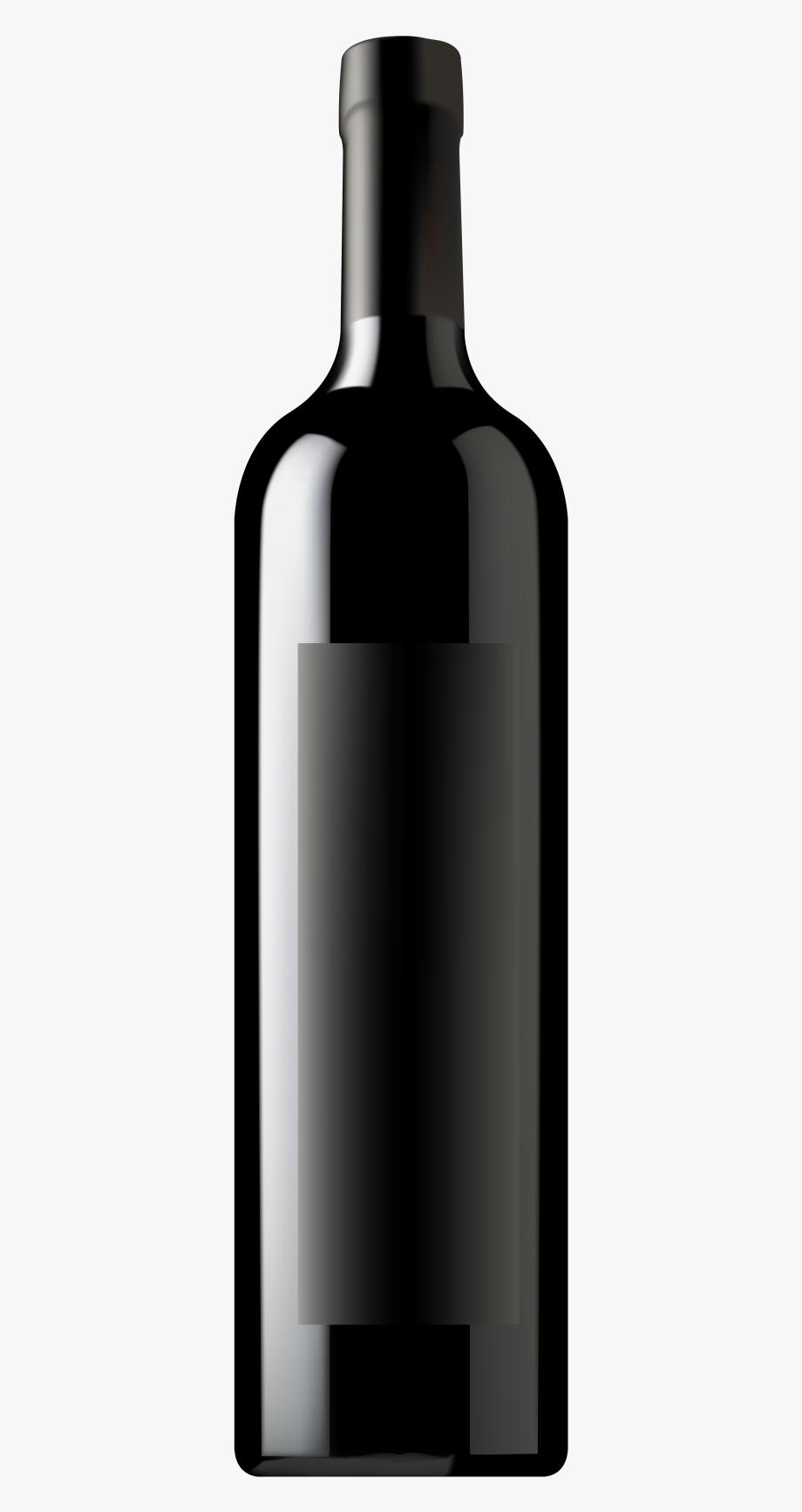 Wine Bottle Png Clip Art Image.
