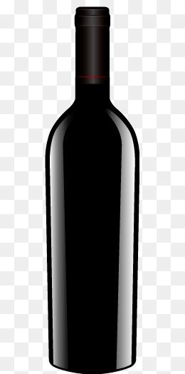 Vector Bottles, Red Wine, Bottle, Wine B #56806.