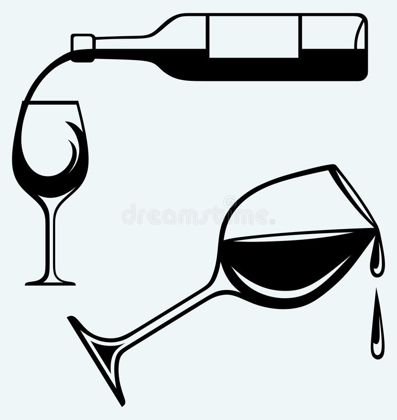 6022 Wine free clipart.