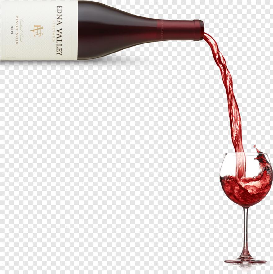 Broken Wine Glass.