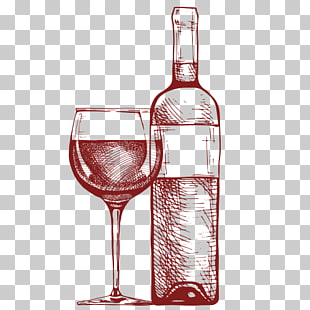 19 wine Bottle Sketch PNG cliparts for free download.