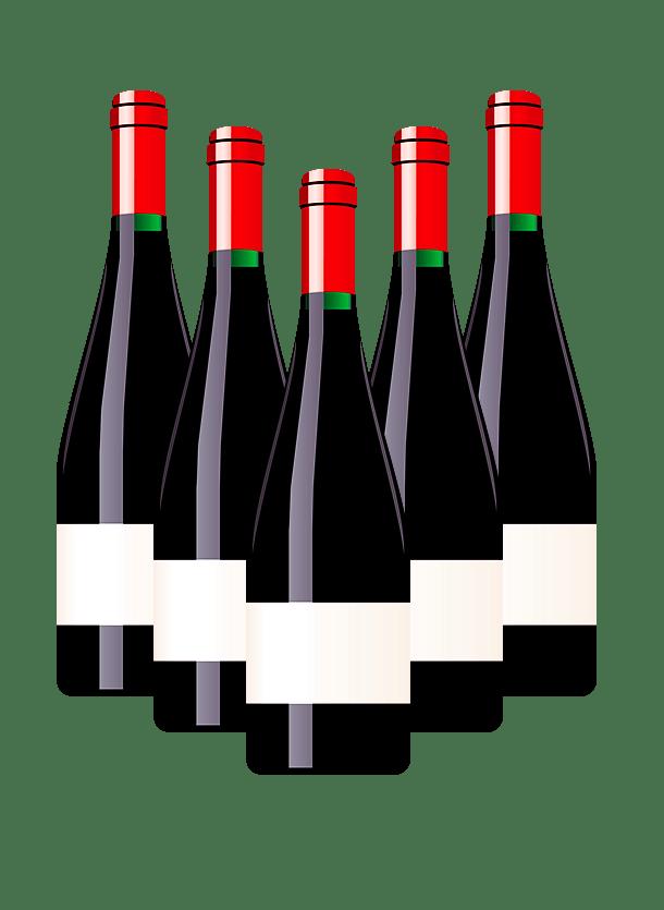 Wine Bottles Clipart transparent PNG.
