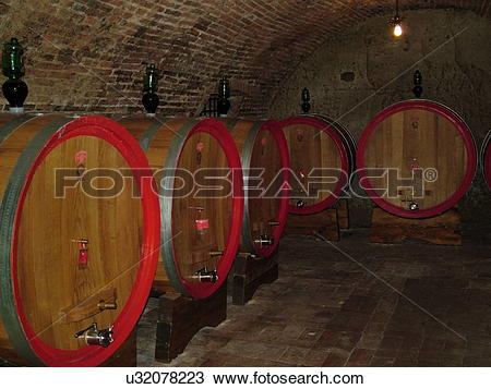 Stock Photo of Tuscany, Italy, Montepulciano, Toscana, Europe.