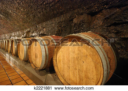 Stock Photography of Wine cave k2221881.