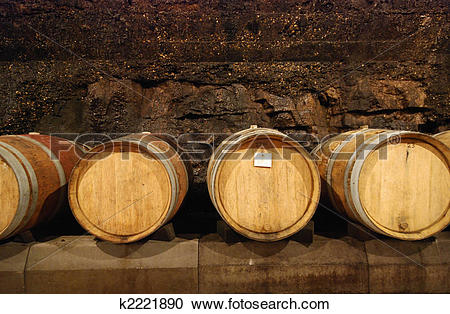 Stock Photography of Wine cave k2221890.