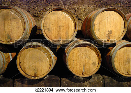 Stock Photo of Wine cave k2221894.