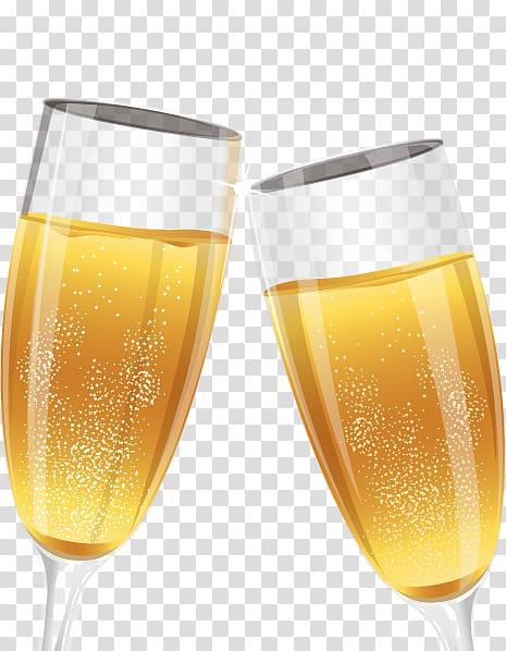 Champagne Cocktail Bellini Buck Wine, Celebration toast.