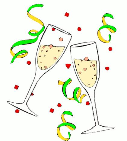 Celebration clipart champagne, Celebration champagne.