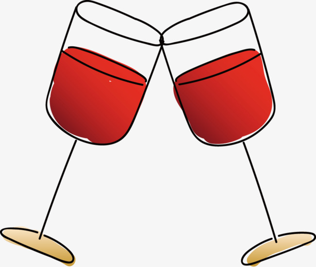 Wine glass cheers clipart 6 » Clipart Station.