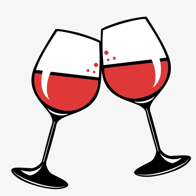 Cheers clipart wine, Cheers wine Transparent FREE for.