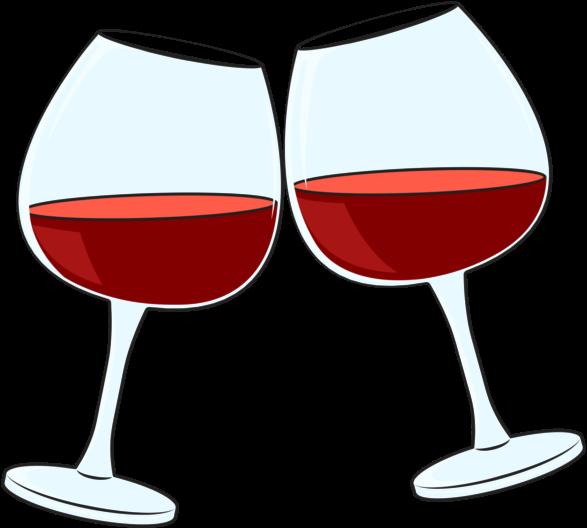 Wine Cheers Clipart , Transparent Cartoon.