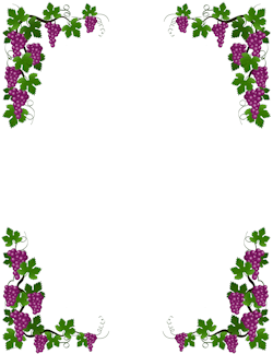 Grape Vine Border.