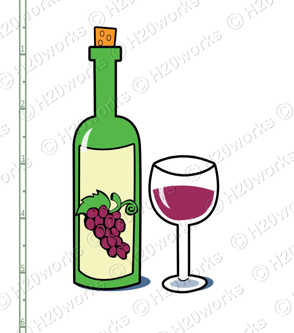 Fun Wine Clipart.