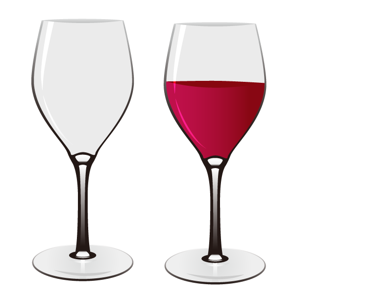 Red Wine Wine glass Euclidean vector.