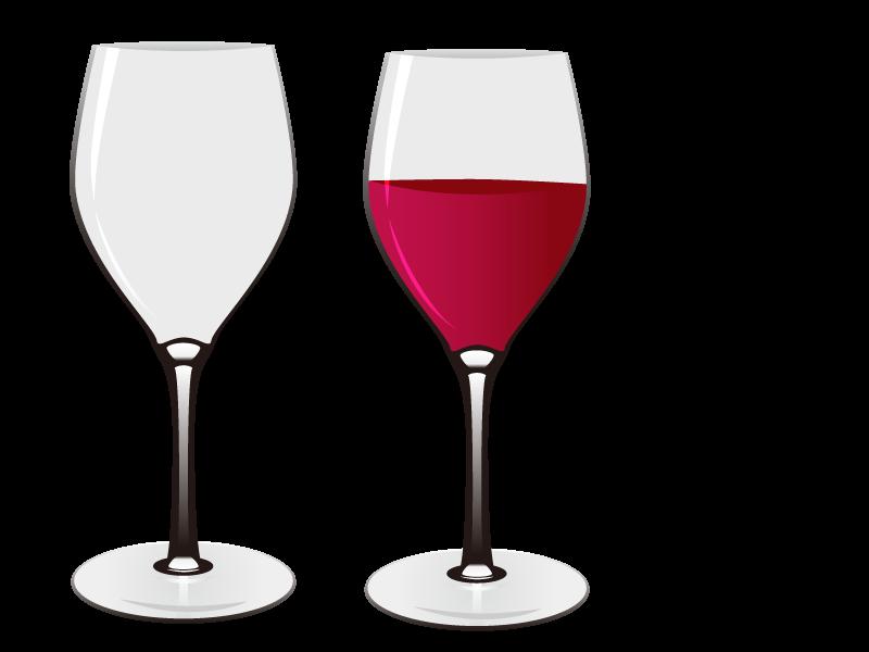Red Wine Wine glass Euclidean vector.