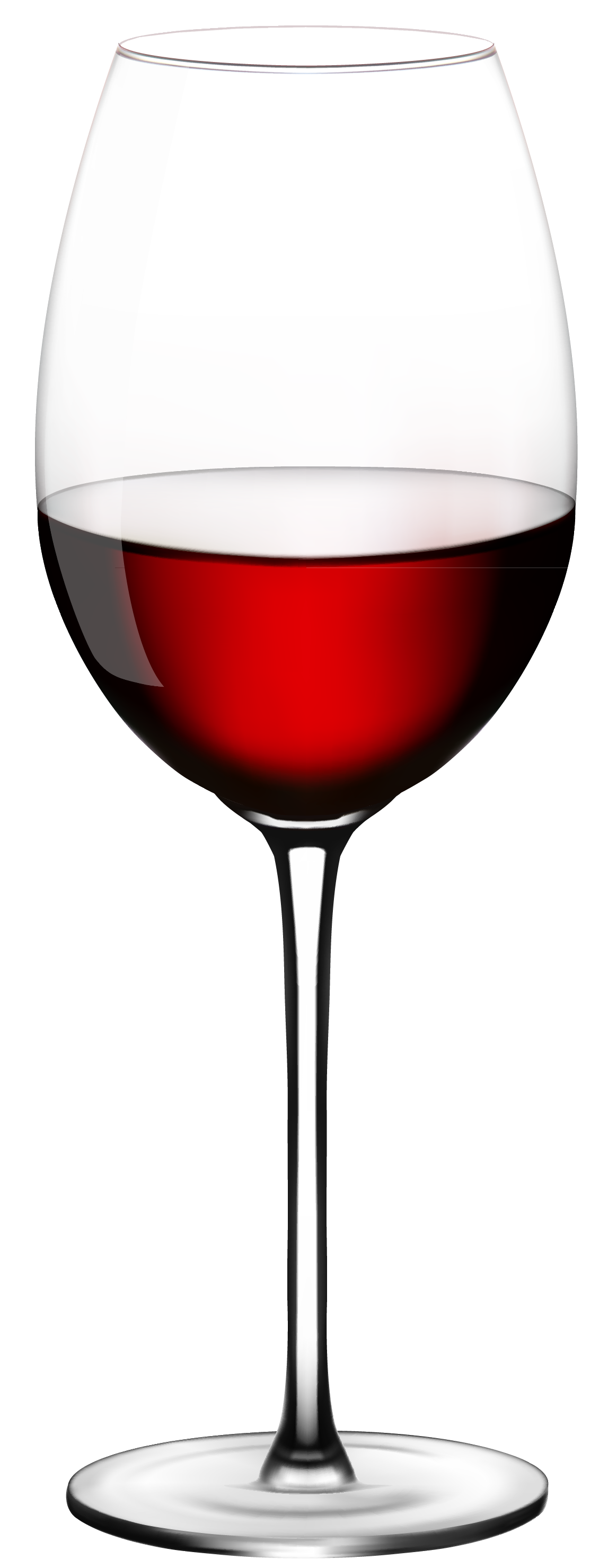Wine Glass PNG Vector Clipart.