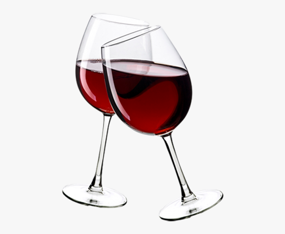 Transparent Glass Of Red Wine Png.
