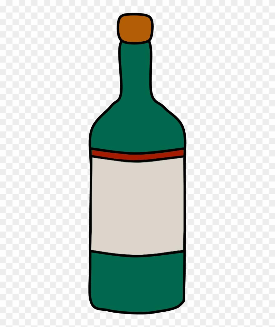 Bottle Of Wine, Cork.