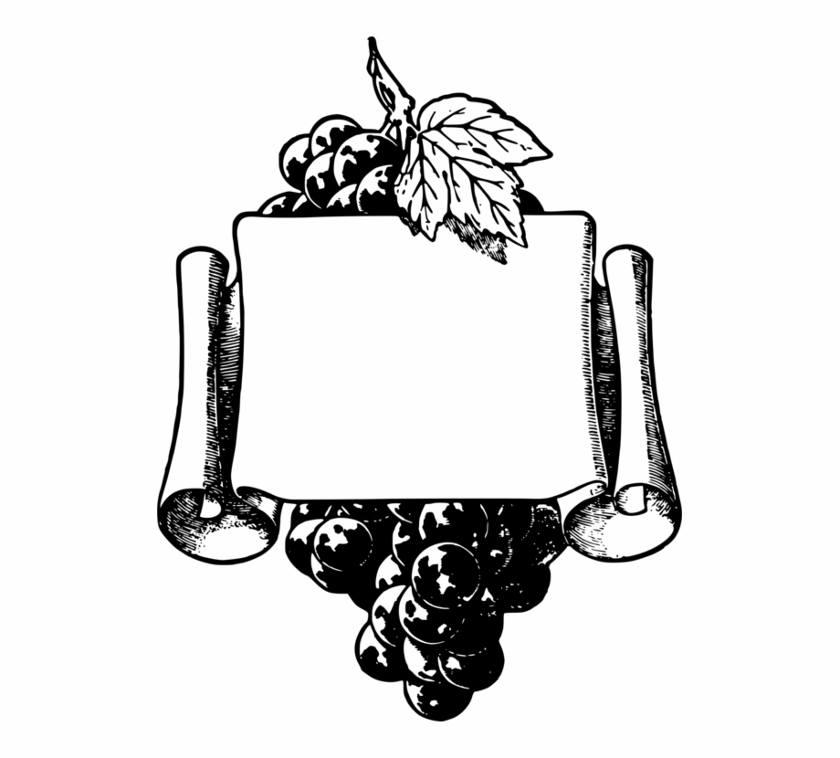 Common Grape Vine Wine Picture Frames Fruit Frame.