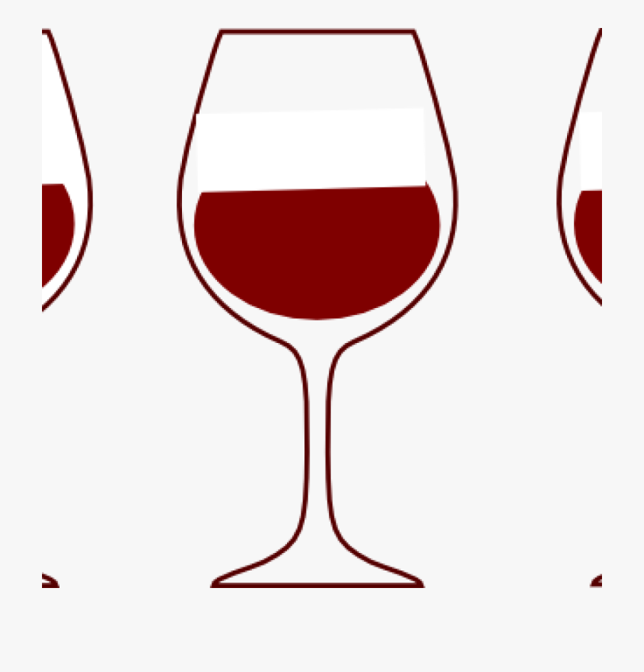 Wine Glass Clipart Wine Glass Spilling Silhouette Clipart.