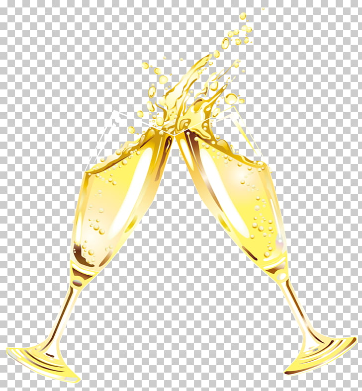 Champagne glass Wine , Flute PNG clipart.