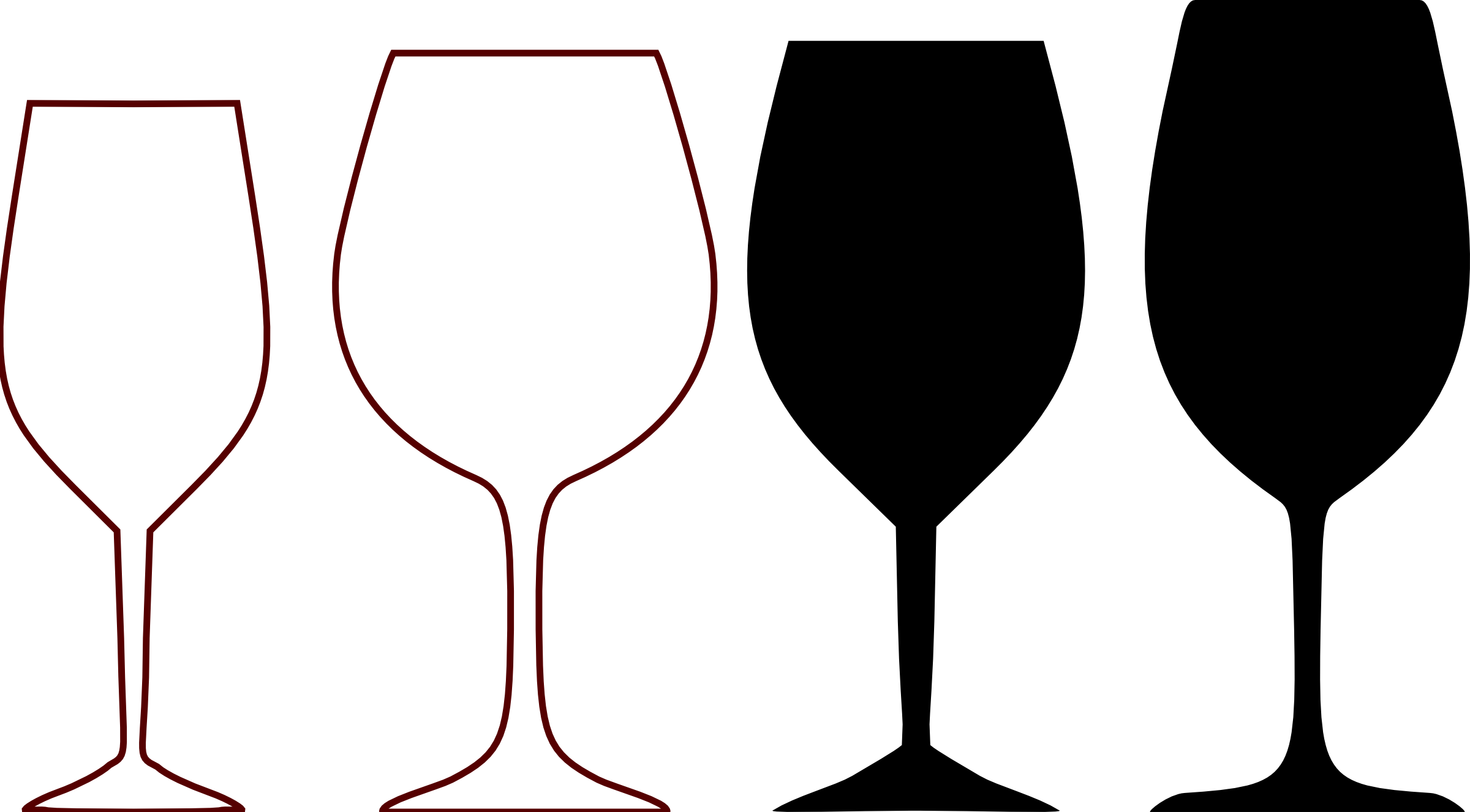 Wine gla simple clipart clipart images gallery for free.