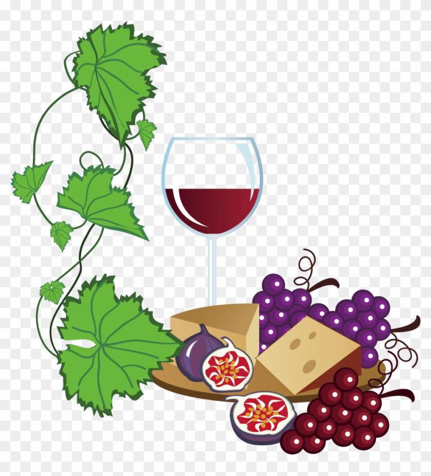 White Wine Common Grape Free Content Clip.