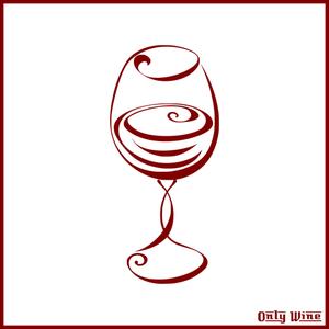 1558 wine glass clip art borders.