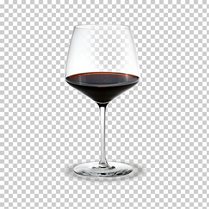 Wine glass Holmegaard Sommelier, wine stain PNG clipart.
