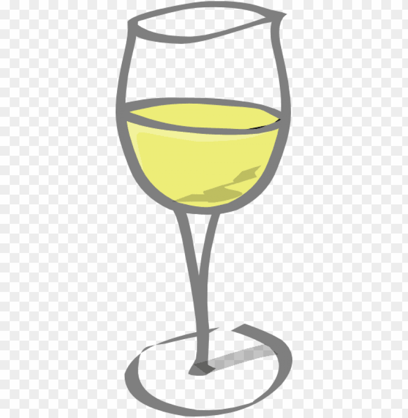 black and white wine glass clipart PNG image with.