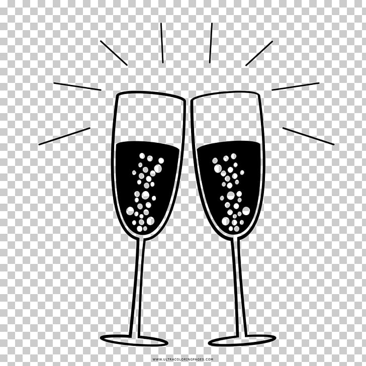 Wine glass Champagne glass Cocktail Drawing, champagne PNG.